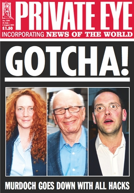 March 4 2005 cover of Private Eye. This is a t...