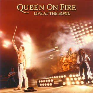 Queen on Fire - Live at the Bowl artwork