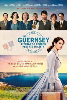 Image result for the guernsey literary and potato peel movie