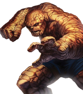 Ben Grimm Fictional character appearing in American comic books published by Marvel Comics