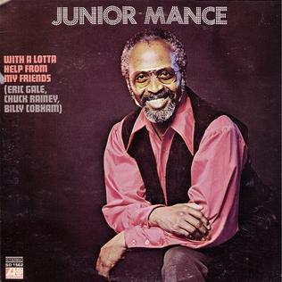 <i>With a Lotta Help from My Friends</i> 1970 studio album by Junior Mance