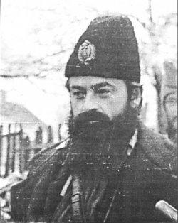 Zaharije Ostojić Montenegrin Chetnik leader