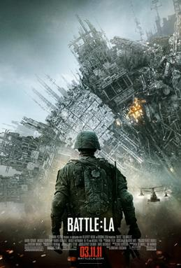 Battle Los Angeles Poster A 19th century Painting: The root of many Blockbuster movie posters