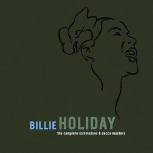 <i>The Complete Commodore & Decca Masters</i> 2009 box set by Billie Holiday