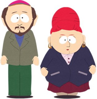Gerald and Sheila Broflovski South Park characters