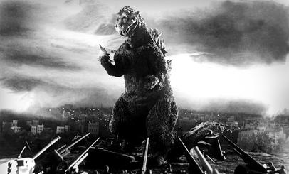 Gojira (from Ishirō Honda's 1954 film).