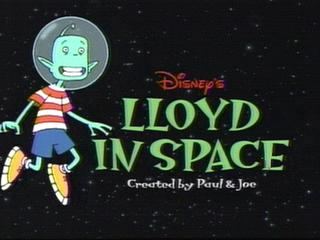 <i>Lloyd in Space</i> television series