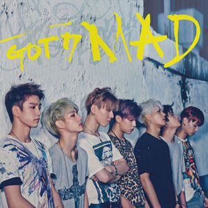 got7 mad repackage