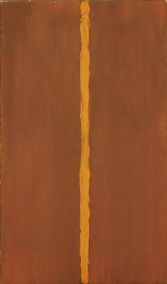 Barnett Newman, Onement 1, 1948. During the 19...