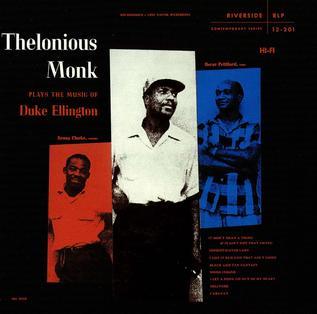 <i>Thelonious Monk Plays Duke Ellington</i> 1956 studio album by Thelonious Monk