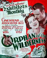 <i>Orphan of the Wilderness</i> 1936 film by Ken G. Hall