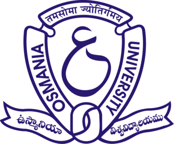 Image result for osmania university hyderabad logo