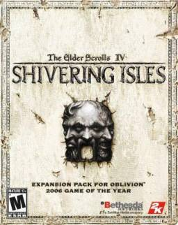 Shivering Isles cover art (Windows)
