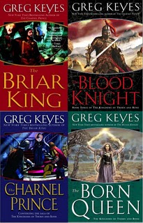 The Briar King, The Charnel Prince, The Blood Knight and The Born Queen