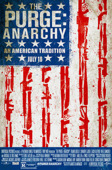 The Purge Anarchy 2014 720p BDRip [Dual Audio] (DD 5.1ch) [DTS Hindi-Eng] ~Team (HDDR) 1.5Gb
