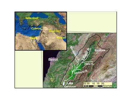 The Upper Litani Basin (ULB)