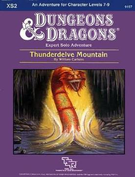 Cover of XS2 Thunderdelve Mountain