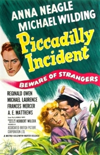 <i>Piccadilly Incident</i> 1946 British drama film by Herbert Wilcox