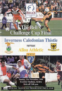 1999 Scottish Challenge Cup Final - Wikipedia