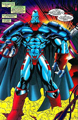 Apocalypse, as depicted in the pages of X-Men ...