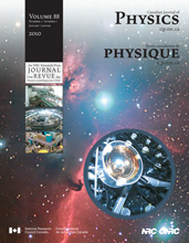 <i>Canadian Journal of Physics</i> journal