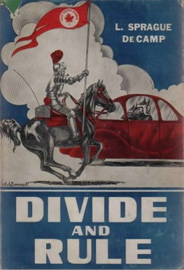 <i>Divide and Rule</i> (collection) book by Lyon Sprague de Camp