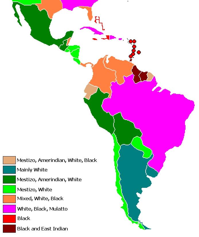 Latin American Race 104