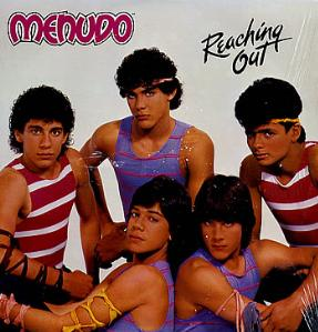 <i>Reaching Out</i> 1984 studio album by Menudo