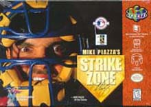 Mike Piazza's Strike Zone box art.
