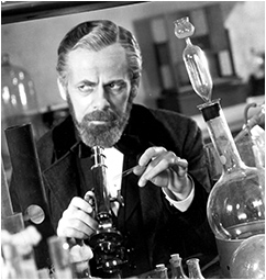His makeup skills were used for The Story of Louis Pasteur.
