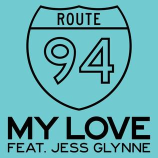 Route 94 featuring Jess Glynne - My Love (studio acapella)