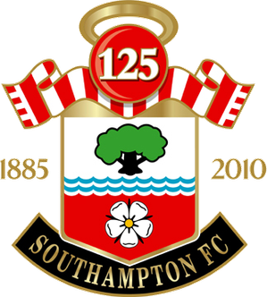 The 125th Anniversary year crest Saints logo 2010.PNG