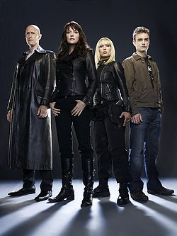 The main characters of Sanctuary Season 1, fro...