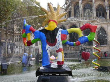 Stravinsky fountain wikipedia - Fontaine beaubourg niki de saint phalle ...