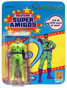 Read Description Custom Carded Super Powers Super Amigos Riddler