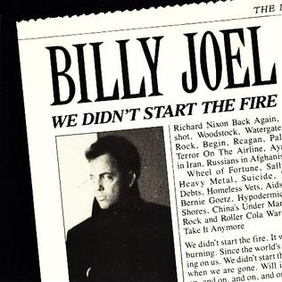 Billy Joel — We Didn't Start the Fire (studio acapella)