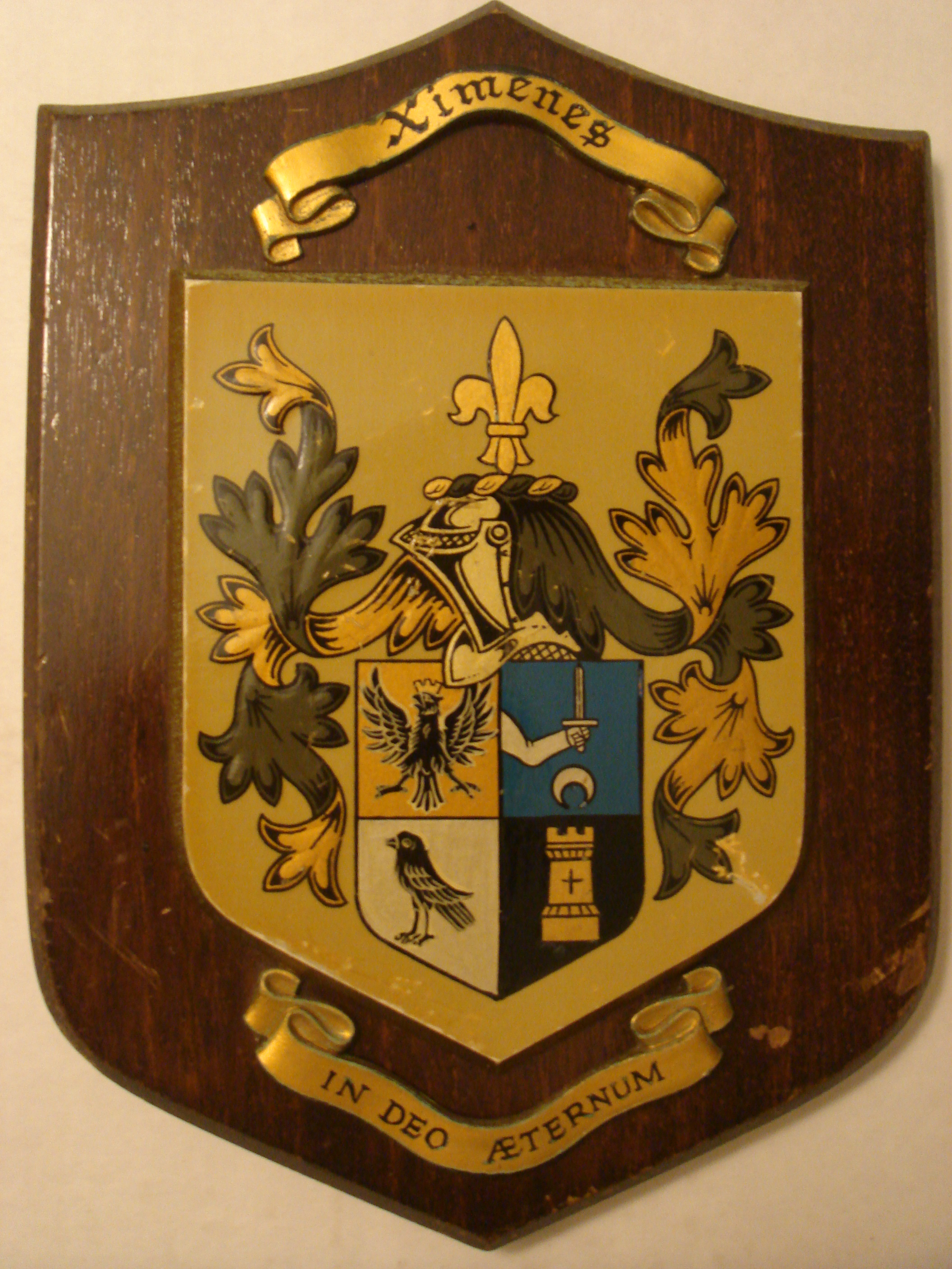 Ethnic background of last names -  Ximenes De Poissy Coat Of Arms French Dynasty Of Portuguese Origin