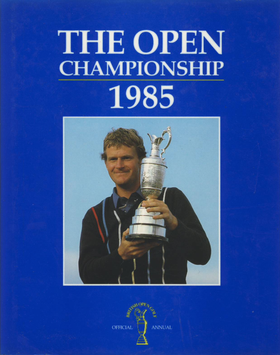 1985 Open Championship Annual Cover.png