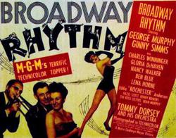 <i>Broadway Rhythm</i> 1944 film by Roy Del Ruth