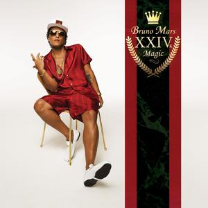 Image result for 24K Magic - Bruno Mars album cover