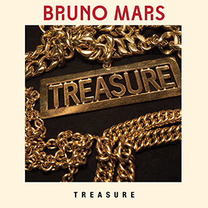 Bruno Mars — Treasure (studio acapella)