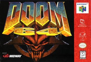 Picture of a game: Doom 64
