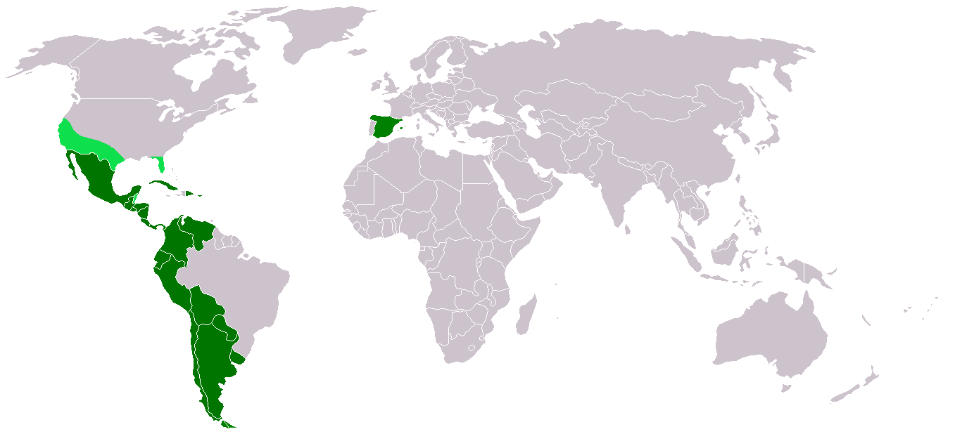 File:Map-Hispanic countries.png - Wikipedia