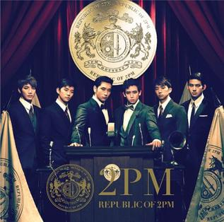 <i>Republic of 2PM</i> 2011 studio album by 2PM