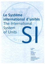 Cover of brochure The International System of Units.