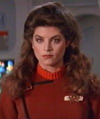 Lt J G Saavik As Portrayed By Kirstie Alley In Star Trek Ii The Wrath Of Khan