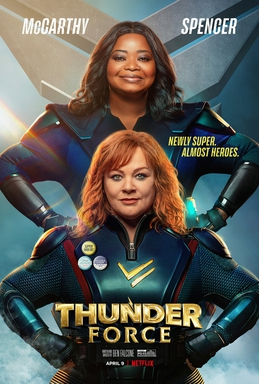 Picture of a movie: Thunder Force