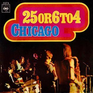 Imagem da capa da música 25 or 6 to 4 de Chicago