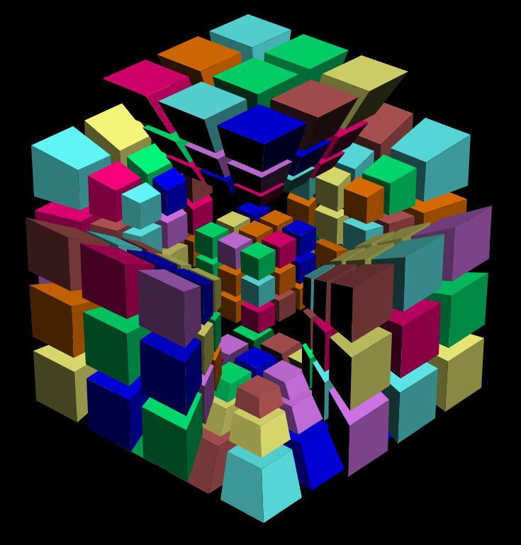 cube wallpaper 4k