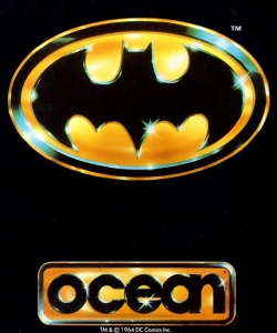 Official poster of the Batman: The Movie Game launched in 1989.